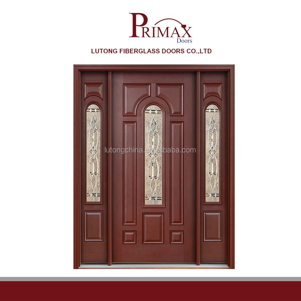 8p Fiberglass Entry Door Model Front Door Design Villa Entry Door
