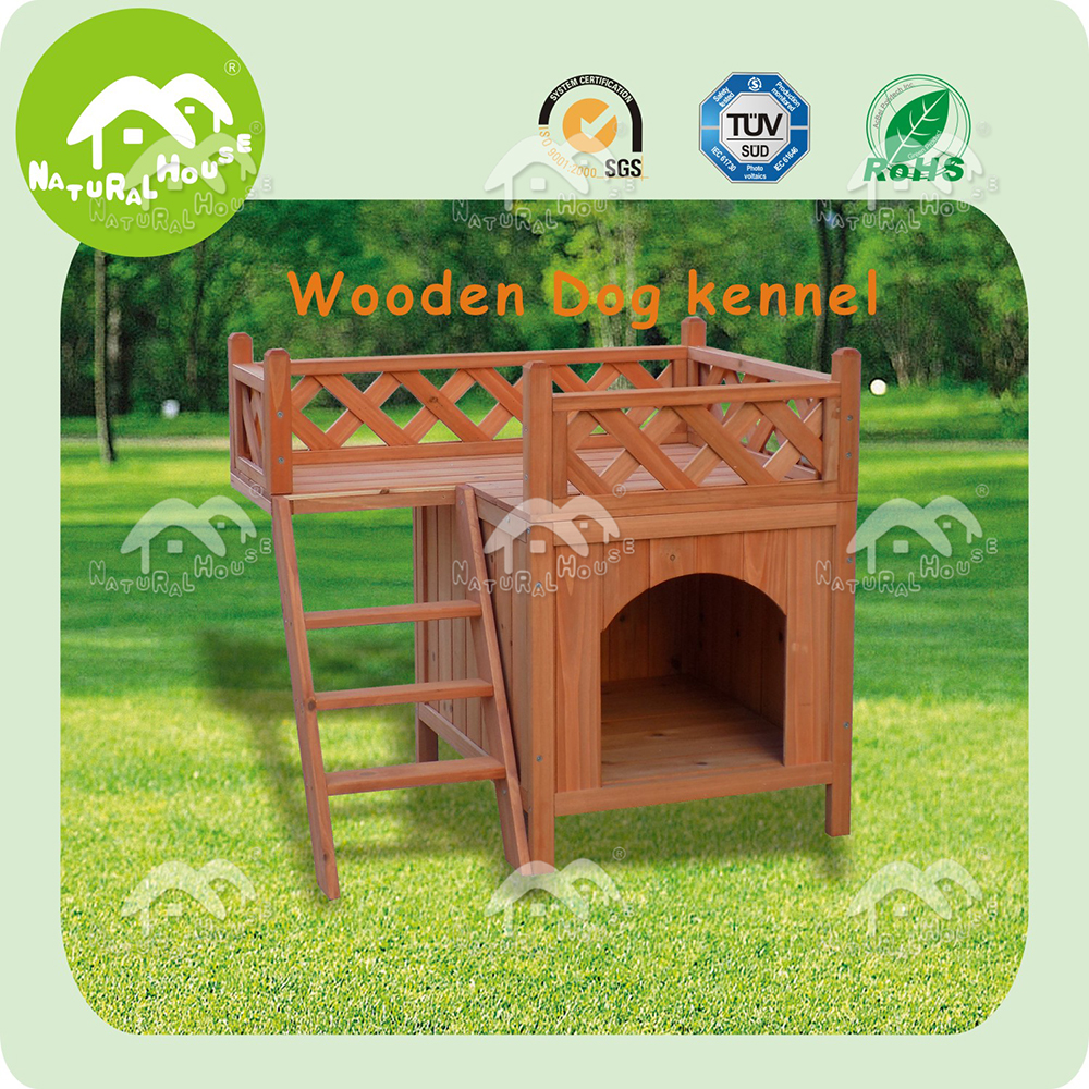 Hot sale top quality pet wood dog house, promotion !
