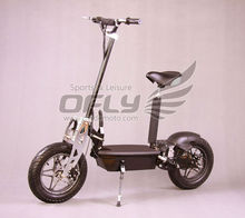 Best Selling CE Approved New Foldable 1000W Electric Scooter in big tire