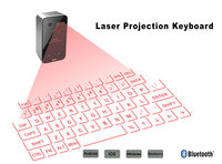 2016 Laser projection keyboard/ Bluetooth 3.0 wireless mini keyboard