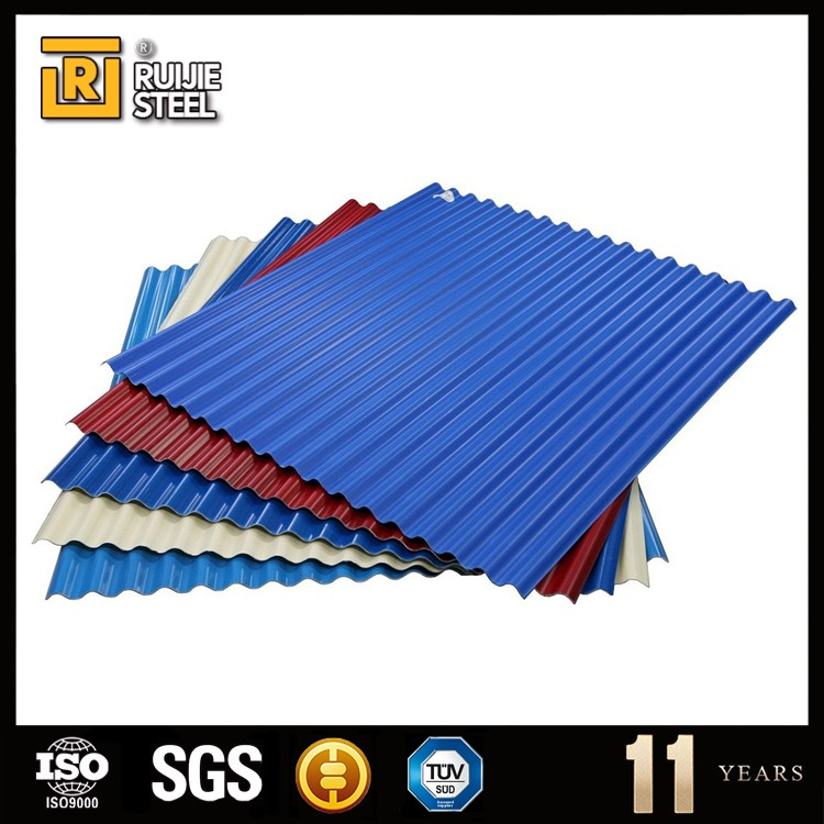 Building material corrugated galvanized metal roofing sheet/tile DX51D SGCC material