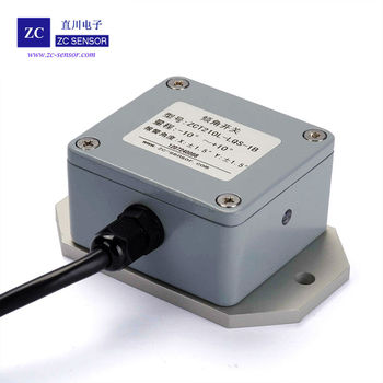 ZCT210L-LQS-1B High Accuracy Two Axis Relay Output Tilt Switch or Inclinometer Switch