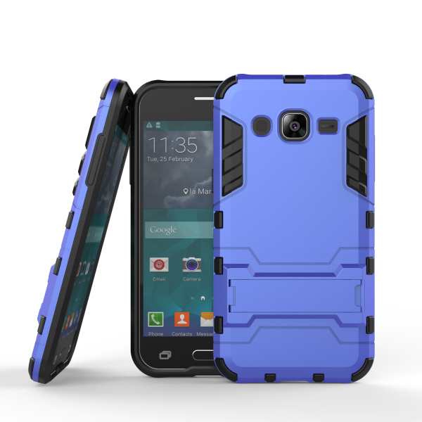 TPU+PC Hybrid Hard Phone Case Cover for Samsung galaxy J2 ,with stand function