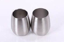Modern Stainless Steel Cups Wine Glass