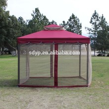 3x4m aluminium gazebo Outdoor PE gazebo/ pavilion with high quality