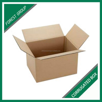 STANDARD SIZE AB FLUTE CORRUGATED CARTON BOX FOR SEA FOOD PACKAGING