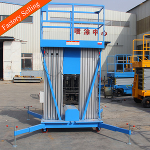 Easy installation telescopic man lift mobile lift platform for 1 person