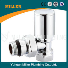 "dn15 angle type chromium plated classical good quality competitive price 1/2"" Auto Temp. Control Valve Yuhuan Miller ML-6021"