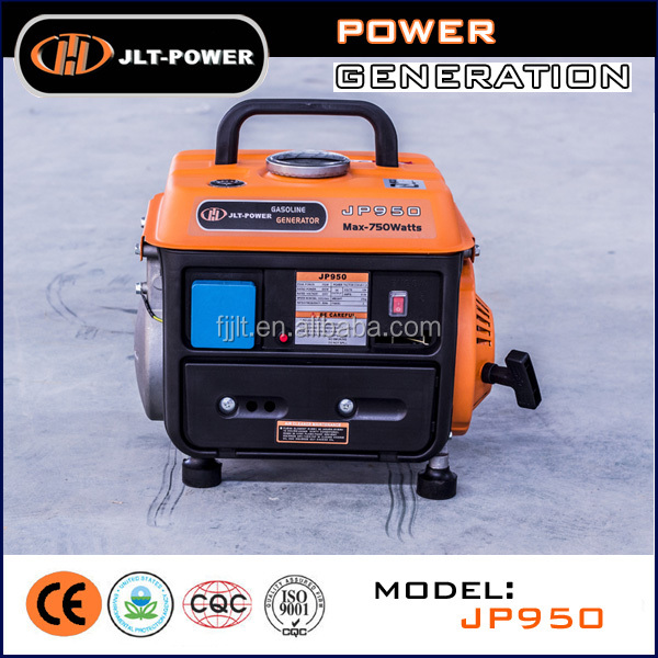 Mini 950 Power Gasoline Generator set with frame for home