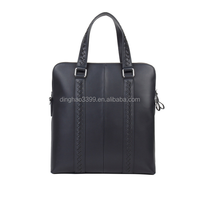 Casual Boutique Mens Computer Bag Genuine Leather Executive Briefcase