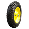 Brazil model pneumatic rubber wheelbarrow tire 3.50x8