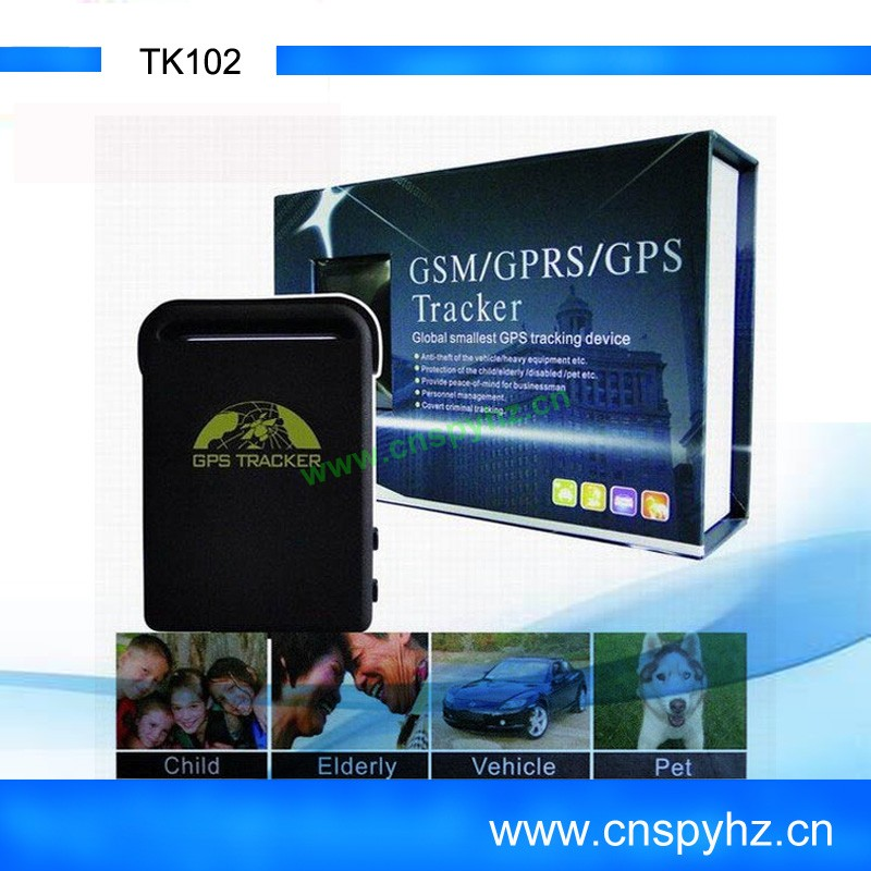 2012 Wholesale vehicle safety protection tracking system tk102 gps tracking by phone number
