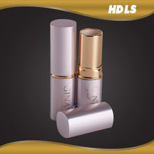 OEM empty aluminum custom lipstick tube packaging design