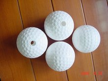 Dimpled Poly Baseballs For Pitching Machines