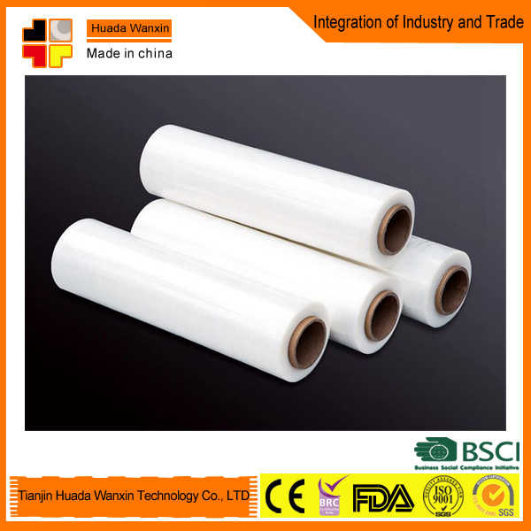 23 micron Black LLDPE Stretch Film Manufacturer China/Stretch Wrapping Film/Linear Low Density Polyethylene