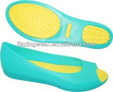 Fashion 2013 lady pvc flip flop jelly sandal for footwear and promotion