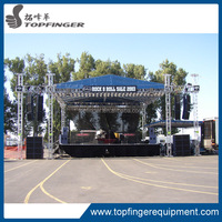 TFR February hot selling concert scaffolding truss system/truss roof for event