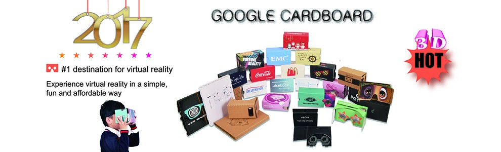2017 Personalized vr cardboard viewer google cardboard 3d vr glasses virtual reality for andriod smartphone