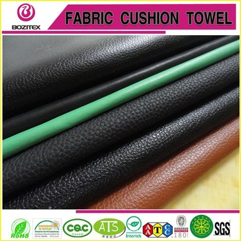 2015best selling lichi pattern microfiber fake leather