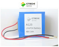 A123 48V 3Ah lifepo4 Rechargeable Battery