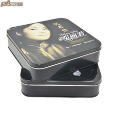 China Good metal storage packaging box tin cd dvd case