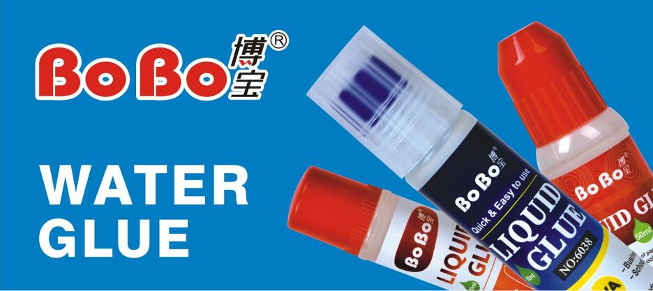factory direct non-toxic stationery 35ml clear water liquid pva glue