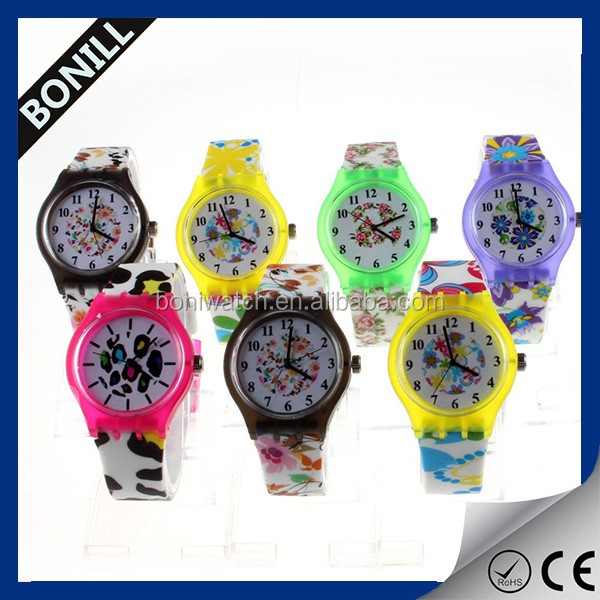 2016 Hot sale factory price cheap silicone slap for kids gift watch