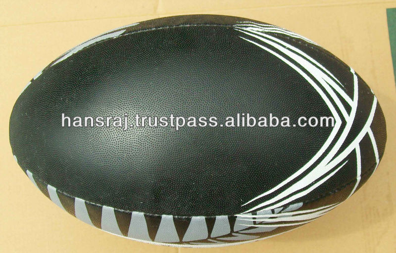 Official Size Rugby Ball Machine Sewn