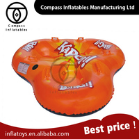 Popular Sled Winter Sports 3 Person Inflatable Snow Sled