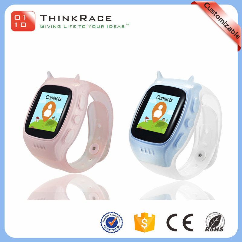 Fashion appearance design pedometer kids sport watch gps tracker