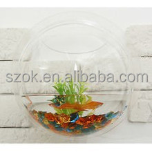 Hot sale outdoor round acrylic fish tank from china
