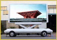 high waterproof P6, P8, P10, P16 mobile truck/outdoor moving led advertising display/outdoor led advertising display trailer/car