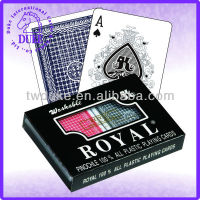 ROYAL BRAND 100% ALL PLASTIC PLAYING CARDS