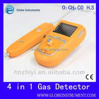 portable gas analyzer (O2, EX, CO, H2S, H2)