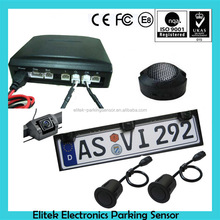license plate backup camera 2 sensor car parking sensor