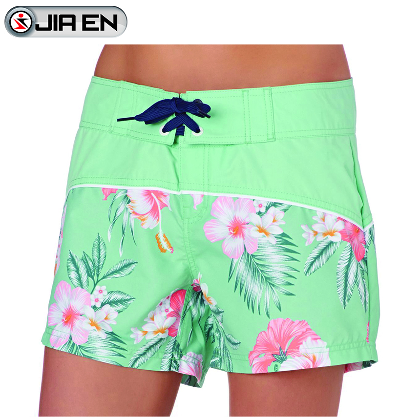 Wholesale custom women style swimming suit newest design board shorts
