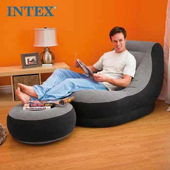 Intex PVC Inflatable Sofa and Ultra Lounge Living Room Funiture