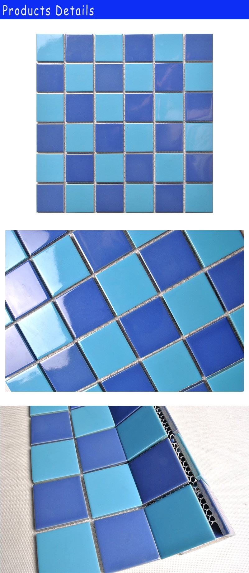 popular and cheap anti-slip swimming pool mosaic from china
