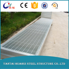 high quality galvanized road drainage steel grating
