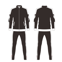 Thailand quality jersey training suit top grade quality men football soccer training jackets
