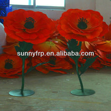 Giant artificial flower