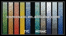 different colors gradual changing rainbow mosaic tile