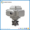 DN15 1/2 SS316 Nickel plated motorized ball DC5V/12V/24V electric motor control valve