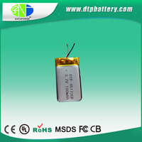UL/IEC Certificated 3.7v 190mah deep cycle battery for ups