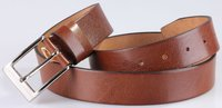 34 mm - 3.4 cm Leather Belt For Men -342006S Model-