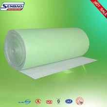 Spray booth Pre Filter Material For Synthetic Fiber Pre Filter