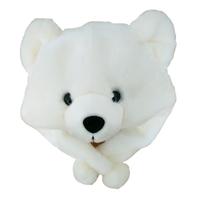 promotional custom plush fat bear head