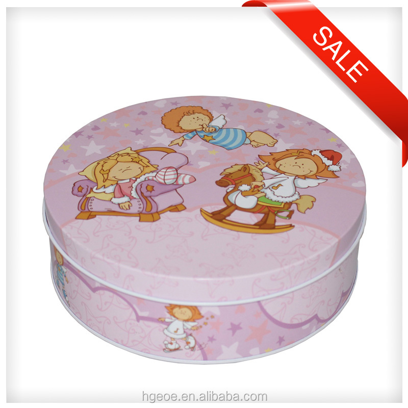 Factory price round mint metal box for wholesale