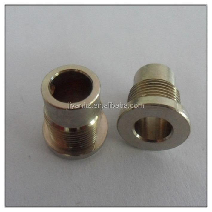 China motorcycle spare parts yamaha mechanical parts accessory flange bushing steel
