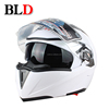Flip up helmets with double visor BLD-158